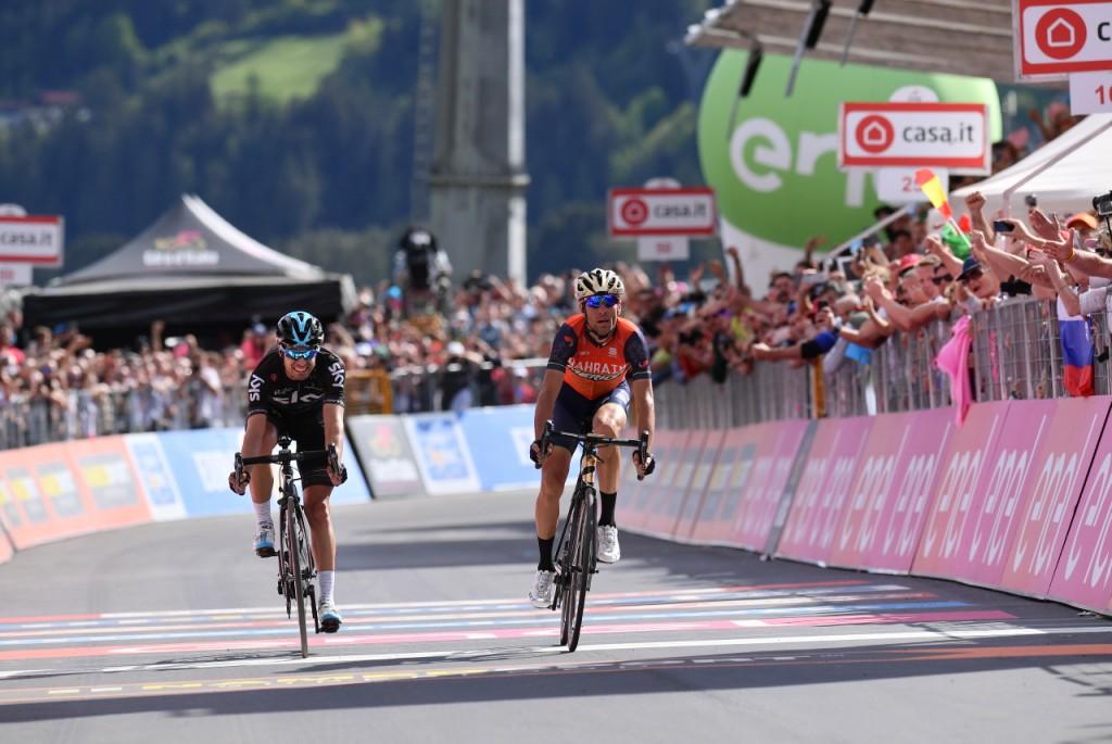 Nibali, Giro d'Italia 2017