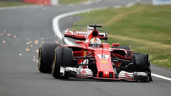 GP di Inghilterra - Ferrari Silvertone