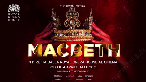 Macbeth l'Opera in diretta streaming al cinema italiano