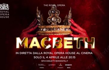 Macbeth l'Opera in diretta streaming al cinema italiano