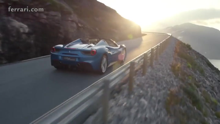 Ferrari - 488 Spider Official video