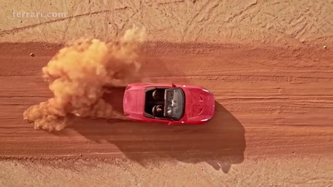 Ferrari CaliforniaT - Night into Day in Australia