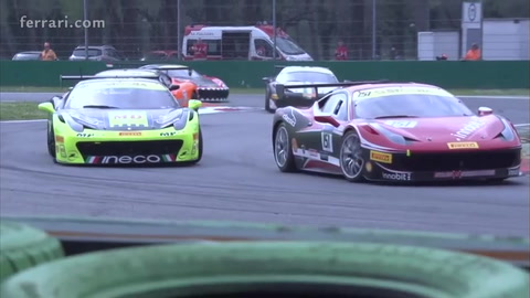 Ferrari Challenge Europe – Baron, Smeeth and Loefflad triumph at Monza.mp4