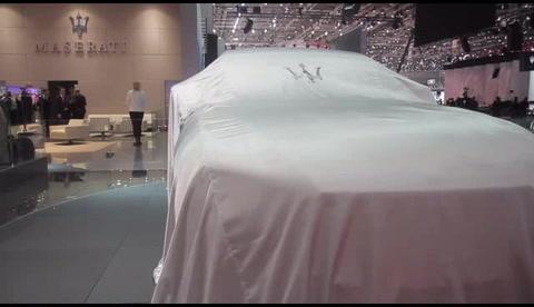 Maserati Levante - Unveiling show at Geneva Motorshow 2016