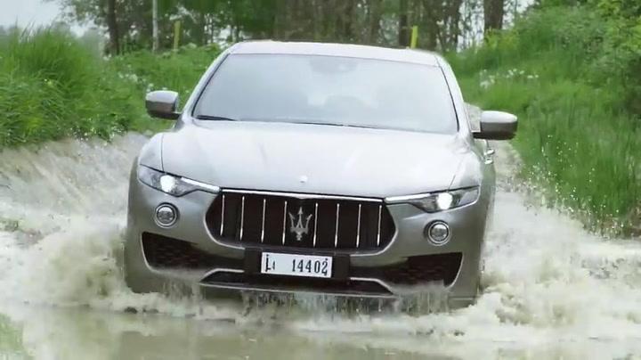Maserati Levante. Natural Ability