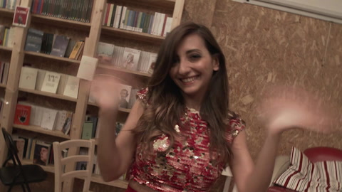 Federica Cacciola da Taormina e Martina Dell'Ombra dai Parioli - una persona, un personaggio, un libro