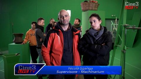 Makinarium - effetti speciali e visivi per un mix di tecnica e creatività a Cinecittà 3
