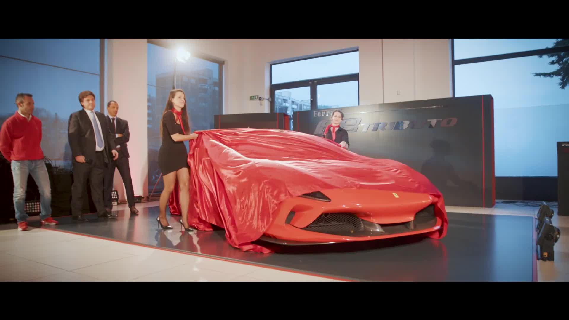 Presentazione Ferrari F8 Tributo - Aprile 2019