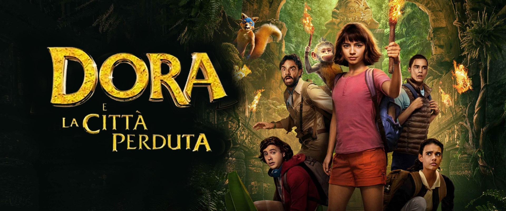 Oggi al cinema per bambini - Dora e la città perduta - Image